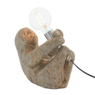 Sloth Table Lamp Silver