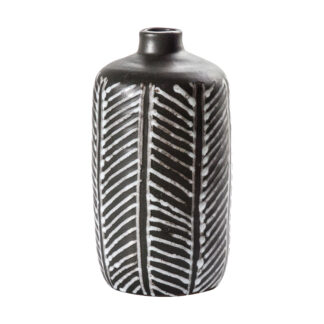 Curillo Vase Black