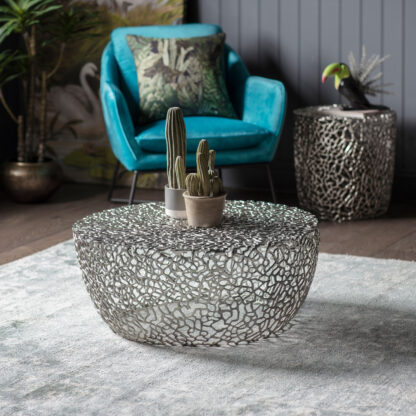Verdant Coffee Table Silver