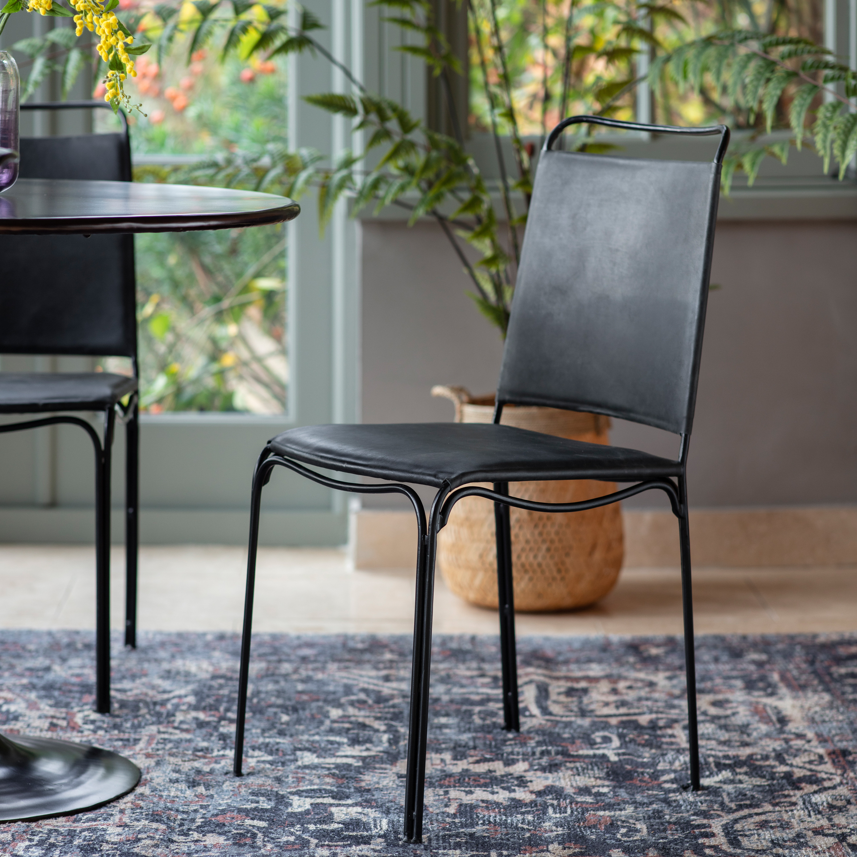 Petham Dining Chair Black (2pk)