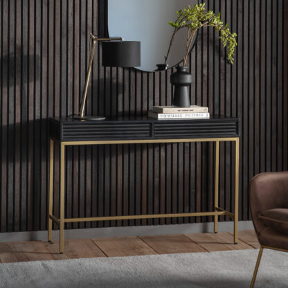 Ripple 2 Drawer Console Table