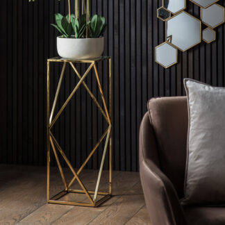 Parma Side Table Gold