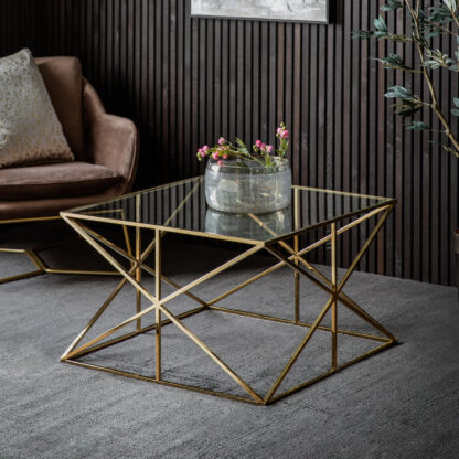 Parma Coffee Table Gold