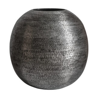 Imartar Vase Round Nickel Antique