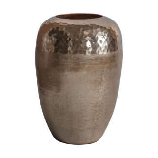 Basar Vase Light Gold