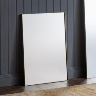 Hurston Rectangle Mirror Silver