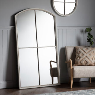 Horley Mirror White