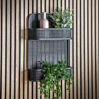 Maki Wall Shelf Black