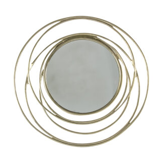 Allende Mirror Satin Gold