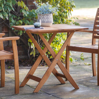 Girona Outdoor Square Folding Table