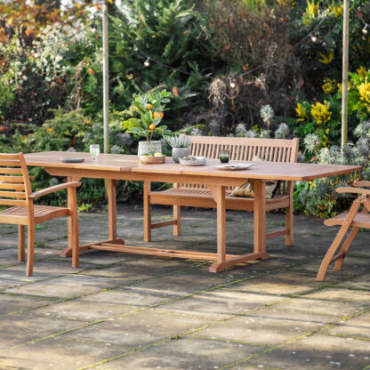 Poro Outdoor Ext Dining Table