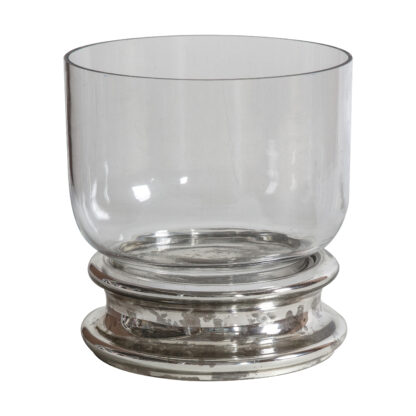 Vallon Candle Holder Large Silver