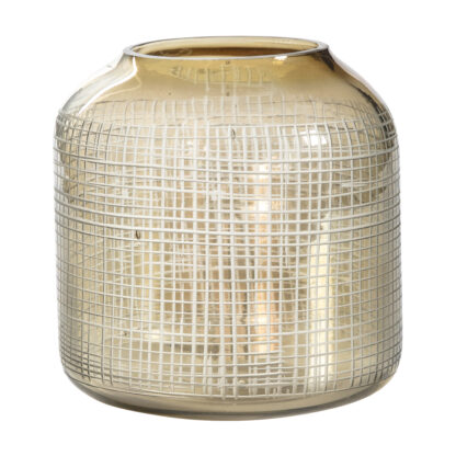 Bessan Mesh Cut Candle Holder Small