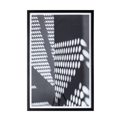 Perforated Study Framed Print