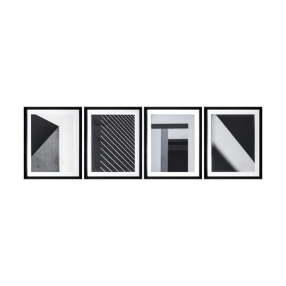 Shadow Architecture Framed Art Set of 4