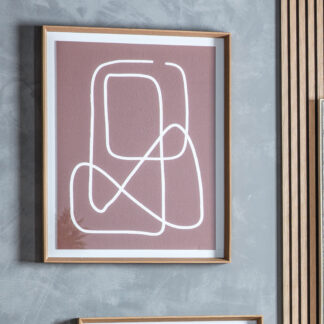 Terra Line Drawing Framed Art