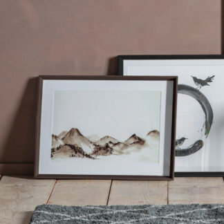 Mountain Scene Framed Art