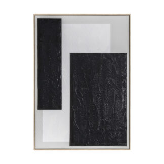 Void II Abstract Framed Canvas