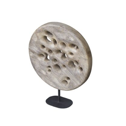 Wooden Deco - Moon Scape -Med