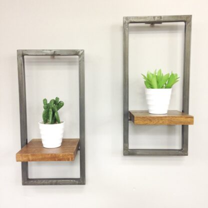 RE-Engineered Wall Shelf SET OF 2