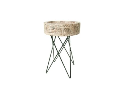 Folk Side Tables (set of 2)
