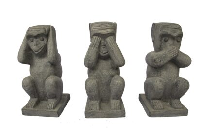 Set of 3 Wise Monkeys