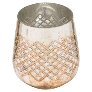 The Noel Collection Medium Burnished  Candle Holder