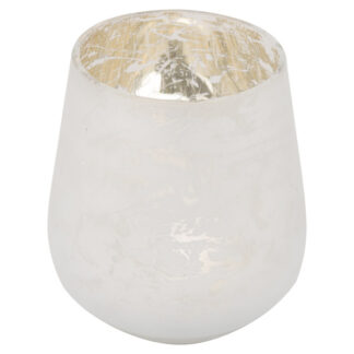 The Noel Collection Medium White Candle Holder