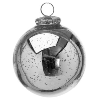 The Noel Collection Silver Bauble