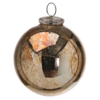 The Noel Collection Burnished  Bauble