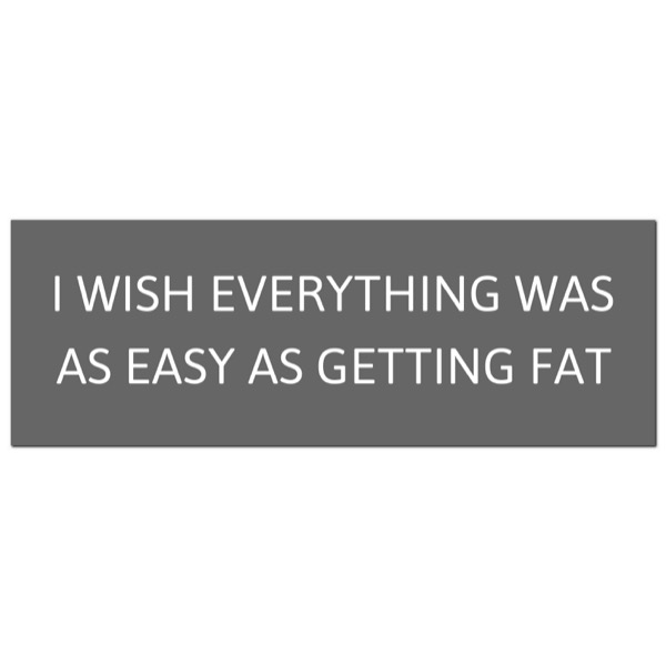 I Wish Everything Was As Easy  Silver Foil Plaque