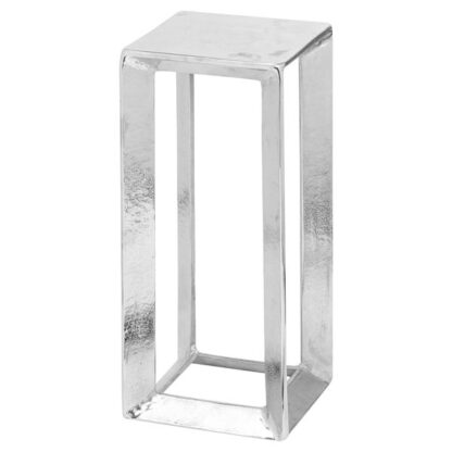 Farrah Collection Small Silver Plant Stand
