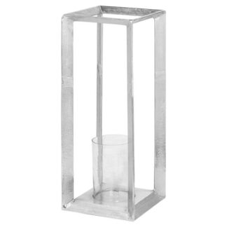 Farrah Collection Large Silver Candle Stand