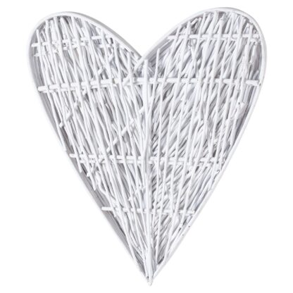White Willow Branch Heart
