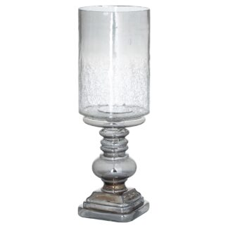 The Noel Collection Smoked Midnight Glass Candle Holder
